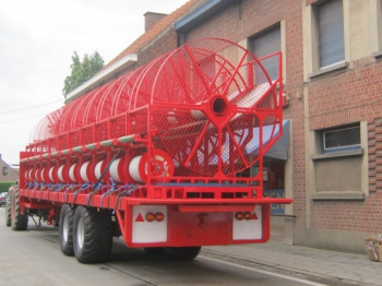 Fixed trailer 11m floor platform