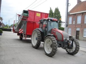 harvesting trailers